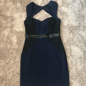 Guess Navy Cocktail Dress - Sz 8 - unworn